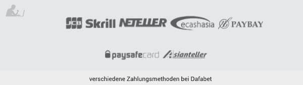 DafaBet Zahlungsmethoden
