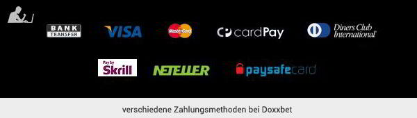 Doxxbet Zahlungsmethoden