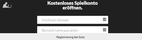 Guts Registrierung