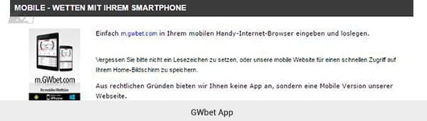 GWBet App