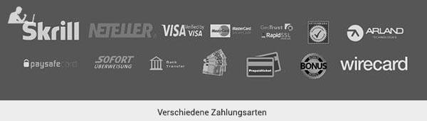 GWbet Zahlungsmethoden