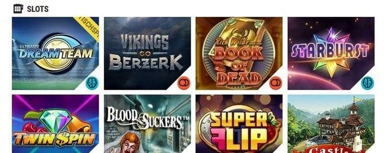 Große Slot-Auswahl online