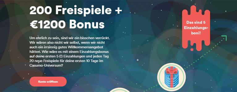 Bis zu 1.200 Euro Bonus erhalten
