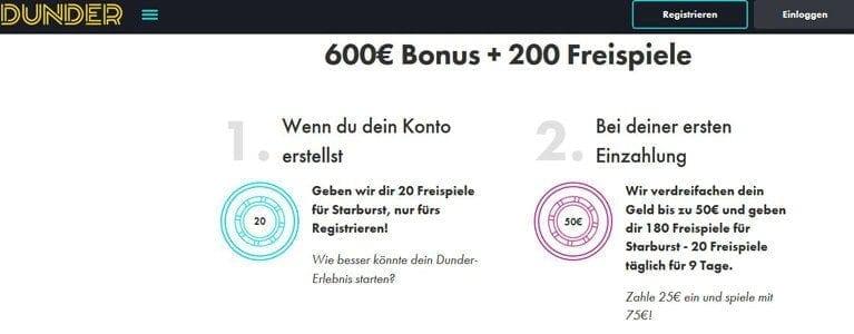 Casino Bonus mit Freispielen