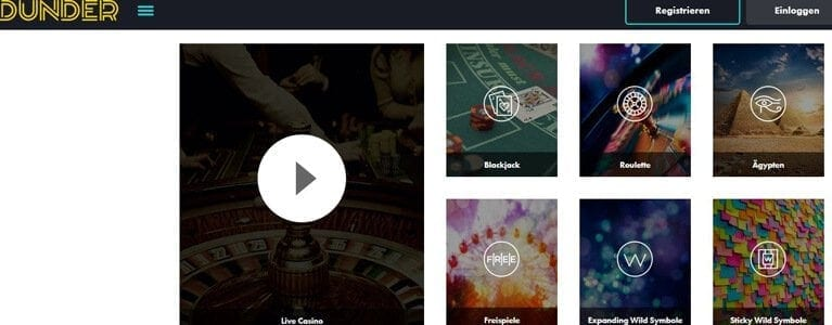 Live-Casino mit Poker & Co.