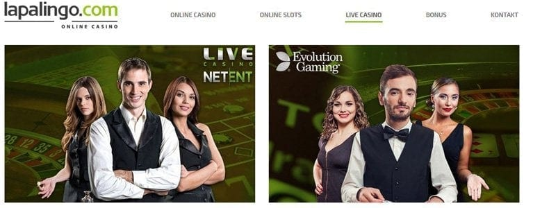Viele Live-Games im Casino