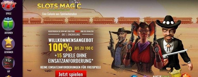 Bis zu 100 Euro und 15 Freispiele