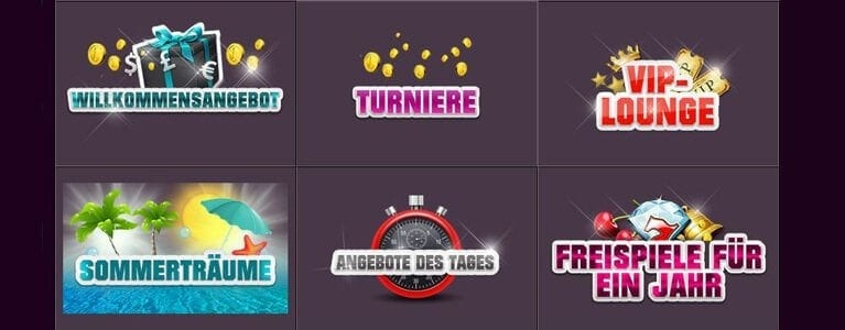 Mehr Aktionen im Online Casino