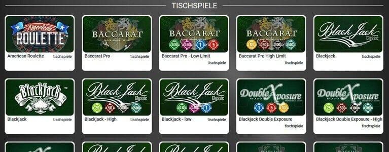 Viele Casino-Klassiker mit Bonus nutzbar