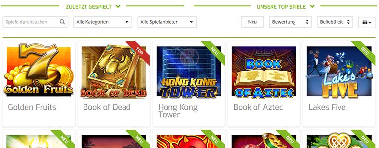 Lapalingo Spiele & Slots im Casino