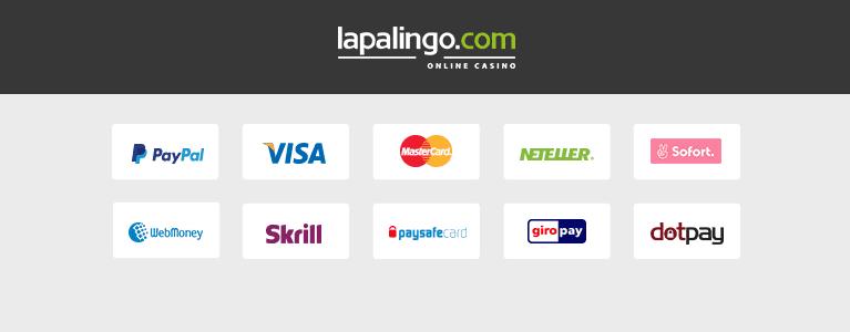 Lapalingo Zahlungen im Online Casino