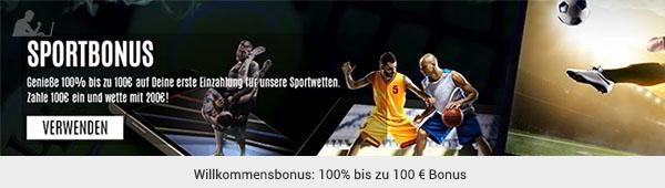 LVBet Sportwetten Bonus