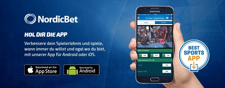 NordicBet Mobile App