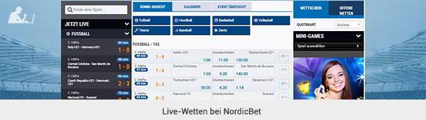 NordicBet Livewetten