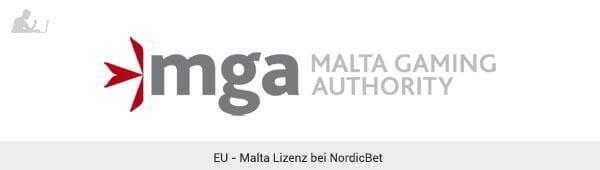 NordicBet Lizenz