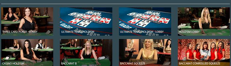 Viks.com Live Casino