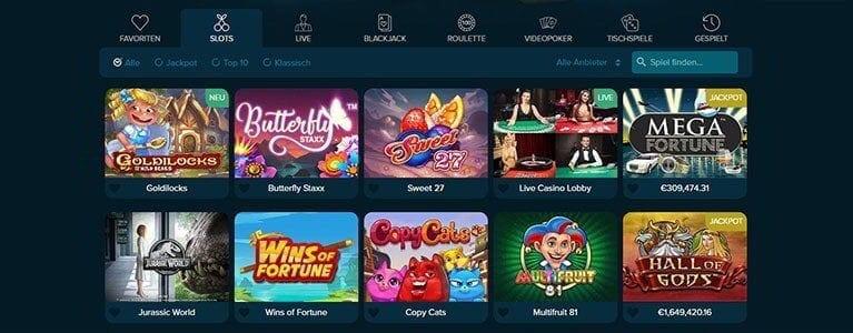 Casinoland Spiele Angebote