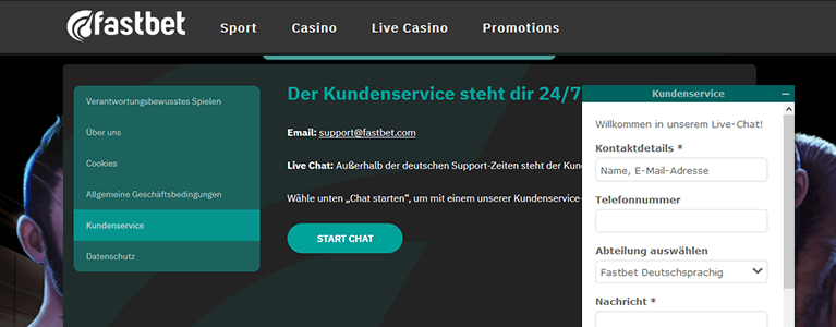 FastBet Support