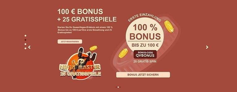 queen vegas casino bonus code