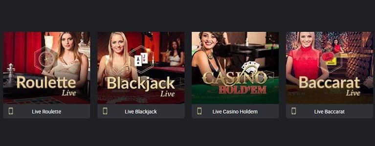 Roy Richie Live Casino