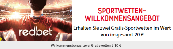 Redbet Sportwetten Bonus