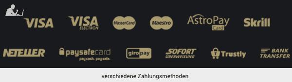 RoyRichie Zahlungsmethoden