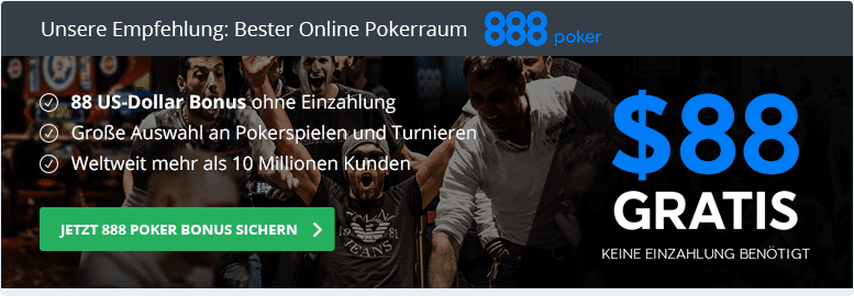 888 Poker bester Anbieter