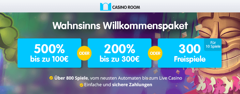latest casino room bonus codes