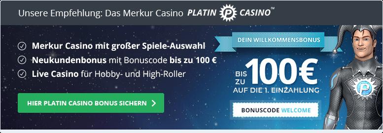 Merkur Casino Empfehlung: Platin Casino