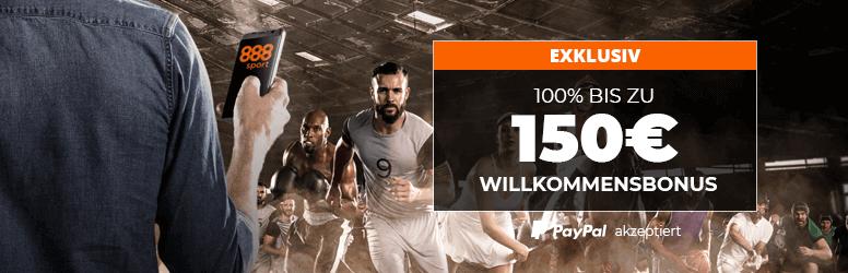 888sport Sportwetten Bonus