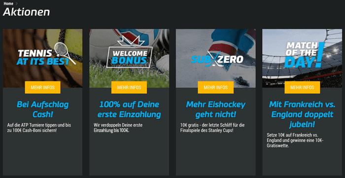 mybet Sportwetten Promotionen