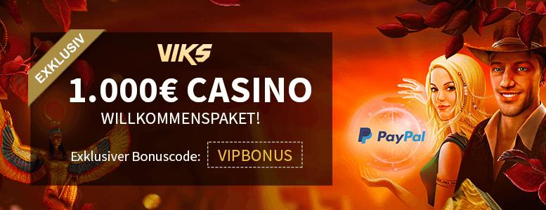 Viks.com Neukundenbonus