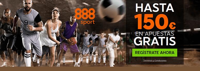 Bono de 150€ 888sport