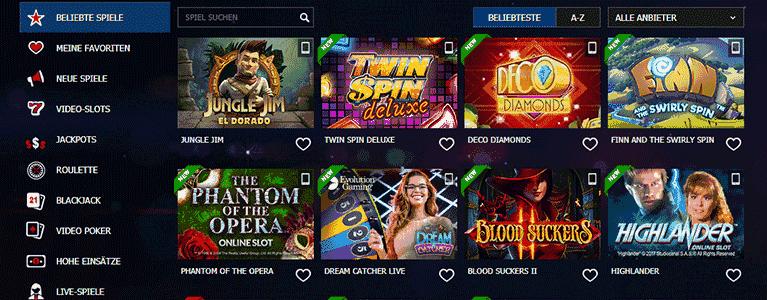 10Bet Casino Angebot