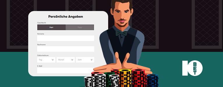 Anmeldung bei 10bet casino