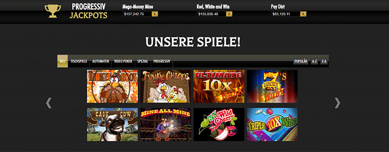 Intertops Casino Angebote