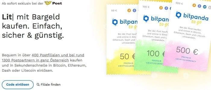 Österreich Post Bitcoin Verkauf
