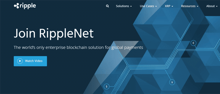 Ripple Labs Homepage