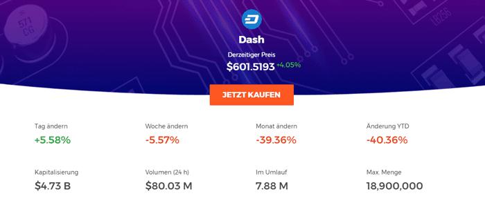 IQ Option Dash kaufen