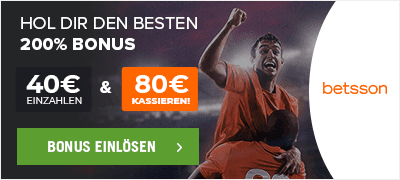 Betsson 200% Bonus