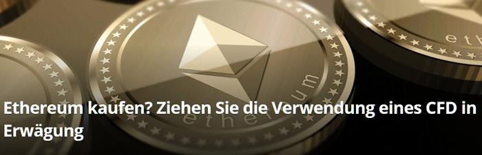 Ethereum kaufen durch CFD-Trading