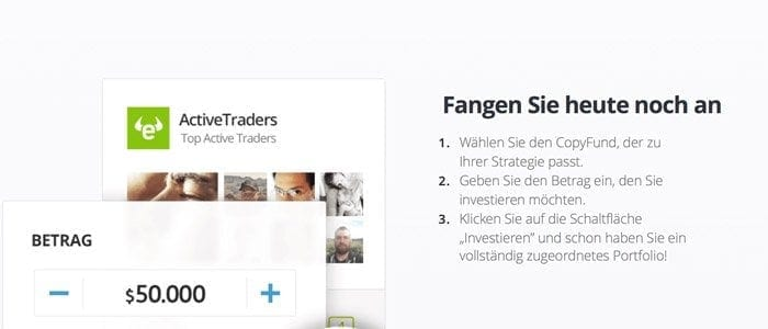 eToro Social Trading Copy Fund