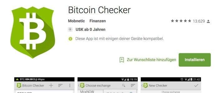 Checker App Play Store
