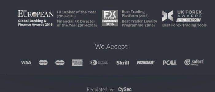 ufx unterstützt Kreditkarten