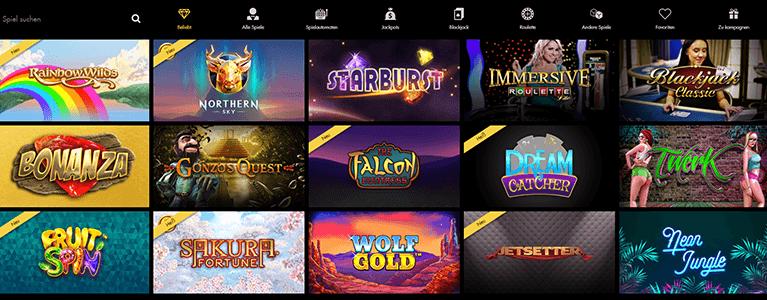 Unibet Casino Spiele Angebot