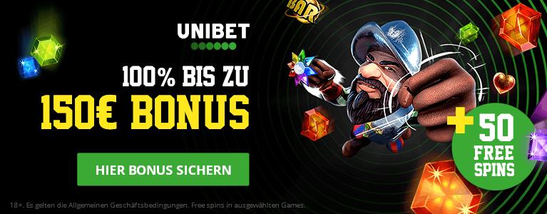 Unibet Casino Bonus