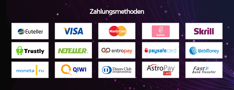 Netbet Casino Zahlungsmethoden