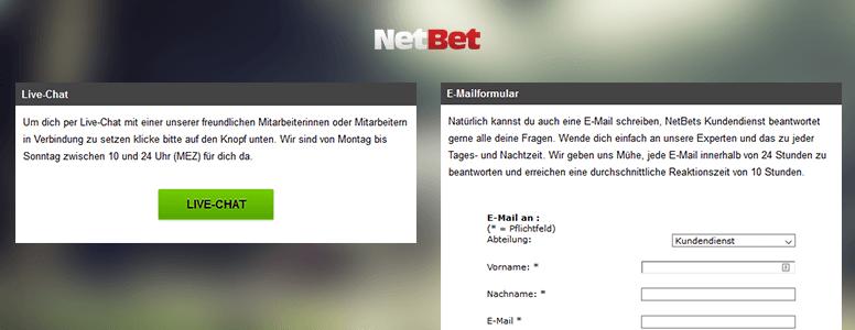 Netbet Sport Support