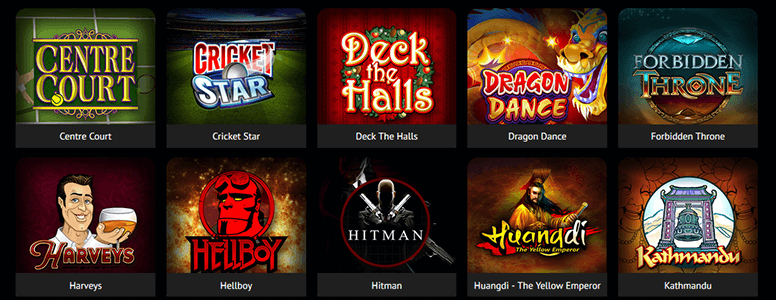 Spin Sports Casino Spiele
