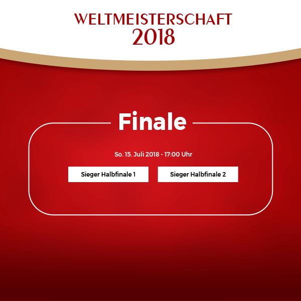 Finale Fußball-WM 2018